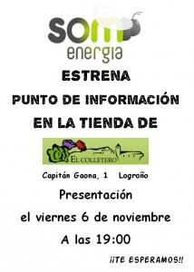 Punto de Información Som Energia La Rioja